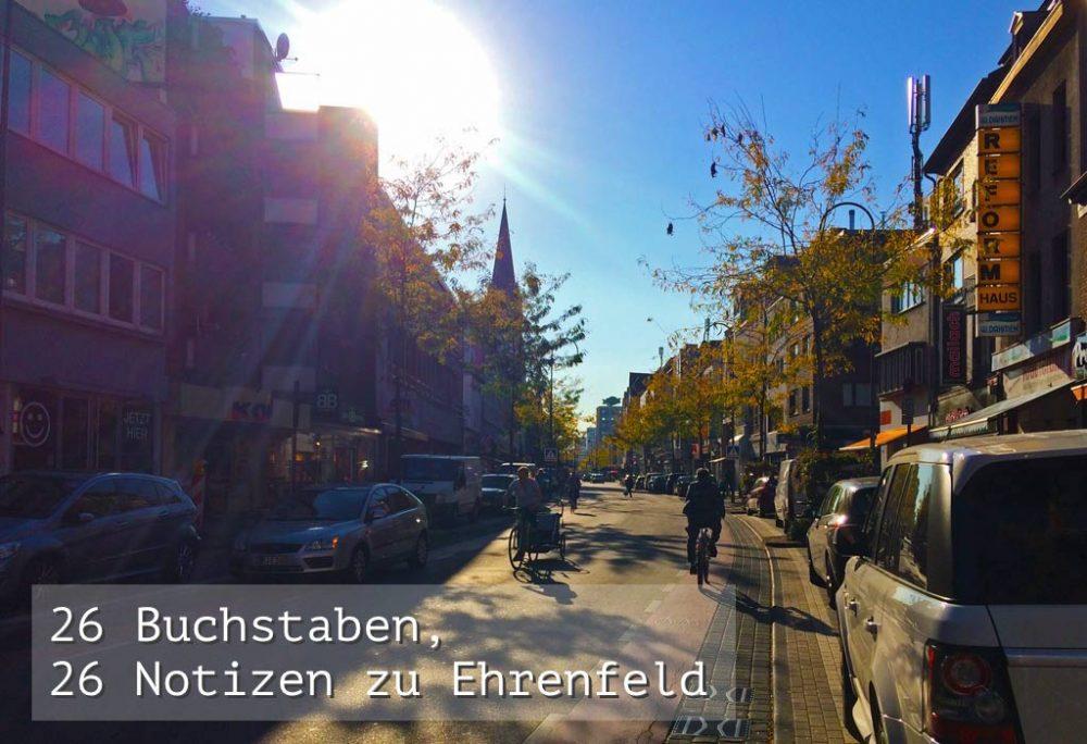 Peter Rosenthal: Ehrenfelder Alphabet