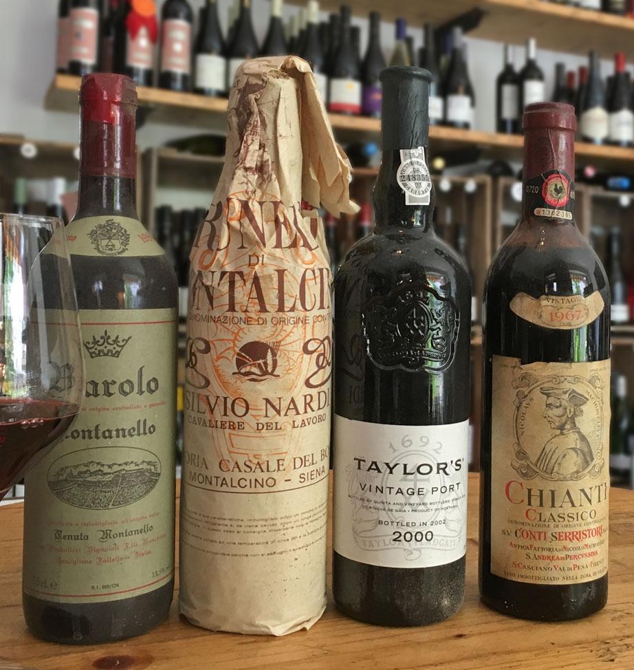Für Kenner und Sammler: Schätze aus dem Weinkeller