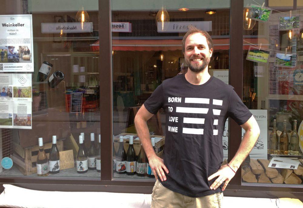Jonathan Hollerith, kurz Jon, will mit dem Urban Winery Projekt die Weinherstellung nach Köln bringen.